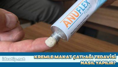 kremle makat çatlağı tedavisi